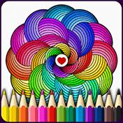 Mandalas Coloring Pages иконка