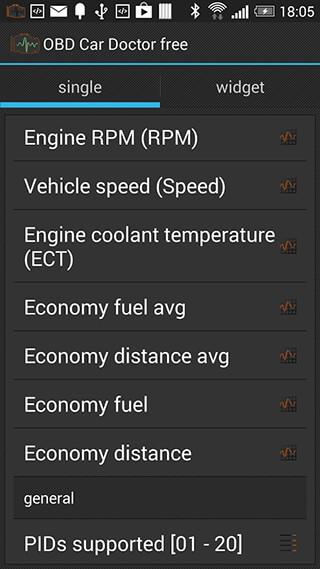 OBD Car Doctor скриншот 4