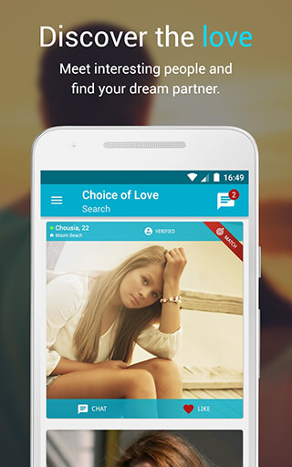 Free Dating and Flirt Chat: Choice of Love скриншот 1