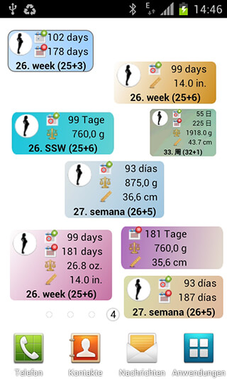 Pregnancy Watcher Widget скриншот 1