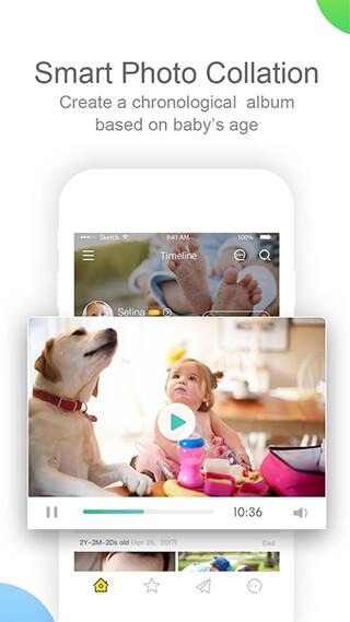 Peekaboo Babybook: PicsandVideos, Journal, Milestone скриншот 3