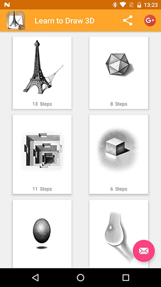 Learn to Draw 3D скриншот 1