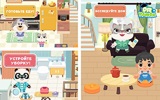 Dr. Panda Town скриншот 2