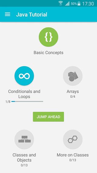 Learn Java скриншот 1