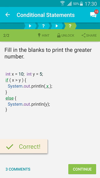 Learn Java скриншот 2