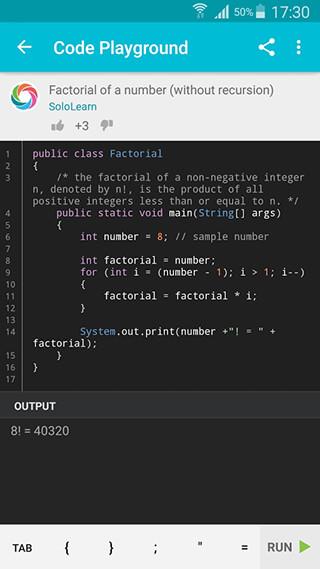 Learn Java скриншот 4