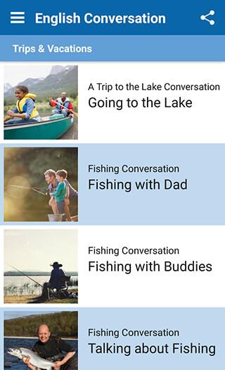 English Conversation Practice скриншот 2