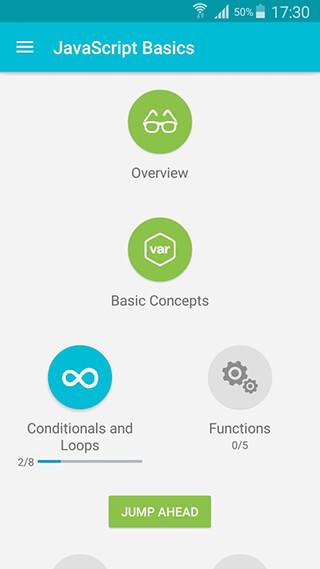 Learn JavaScript скриншот 1