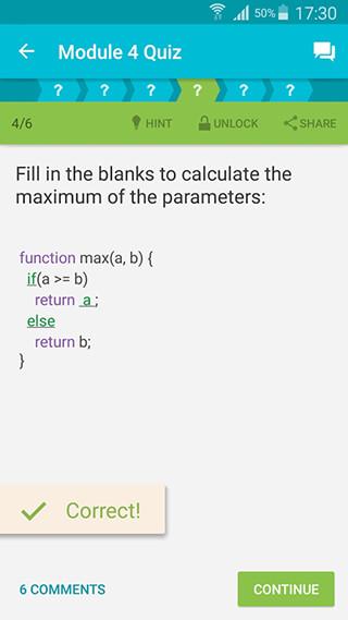 Learn JavaScript скриншот 2