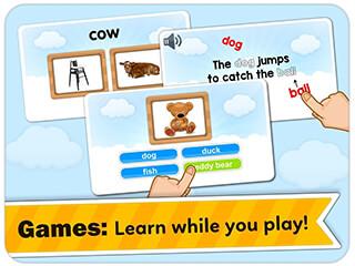 Monkey Junior: Learn to Read English, Spanishandmore скриншот 3