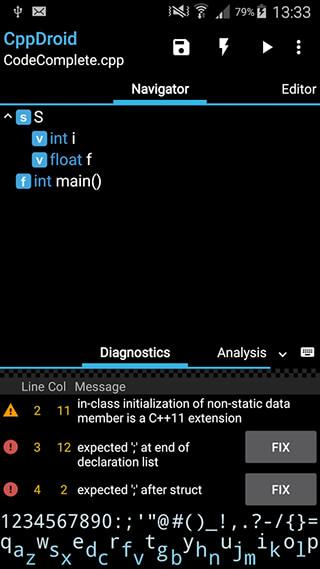 CppDroid: C/C++ IDE скриншот 3