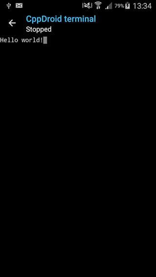 CppDroid: C/C++ IDE скриншот 4