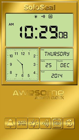 Awesome Alarm Clock скриншот 1