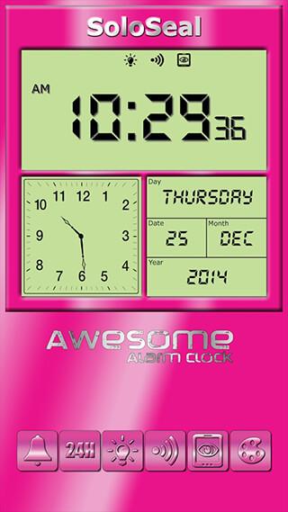 Awesome Alarm Clock скриншот 2
