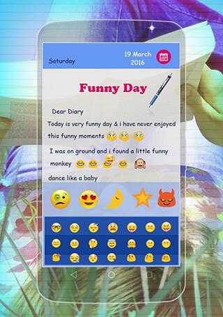 Secret Diary with Lock скриншот 3