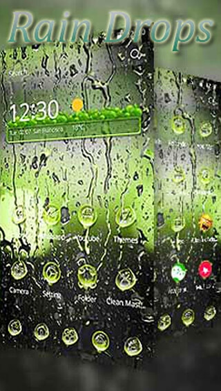 Rainy Water Drops скриншот 1