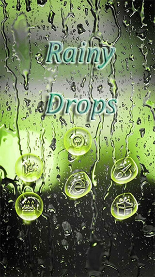 Rainy Water Drops скриншот 3