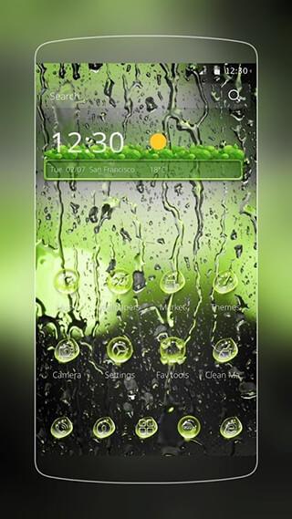 Rainy Water Drops скриншот 4