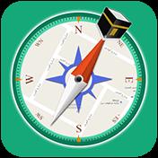 Qibla Compass: Prayer Times, Hijri, Kalma, Azan иконка