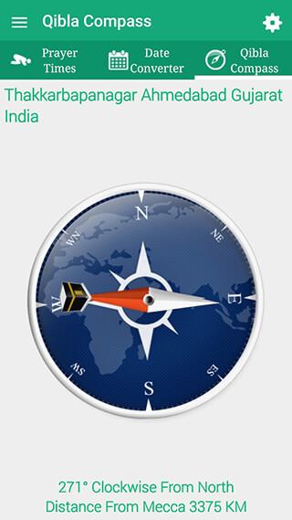 Qibla Compass: Prayer Times, Hijri, Kalma, Azan скриншот 2