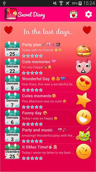 Secret Diary скриншот 4