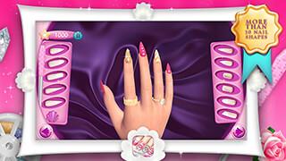 Fashion Nails 3D Girls Game скриншот 1