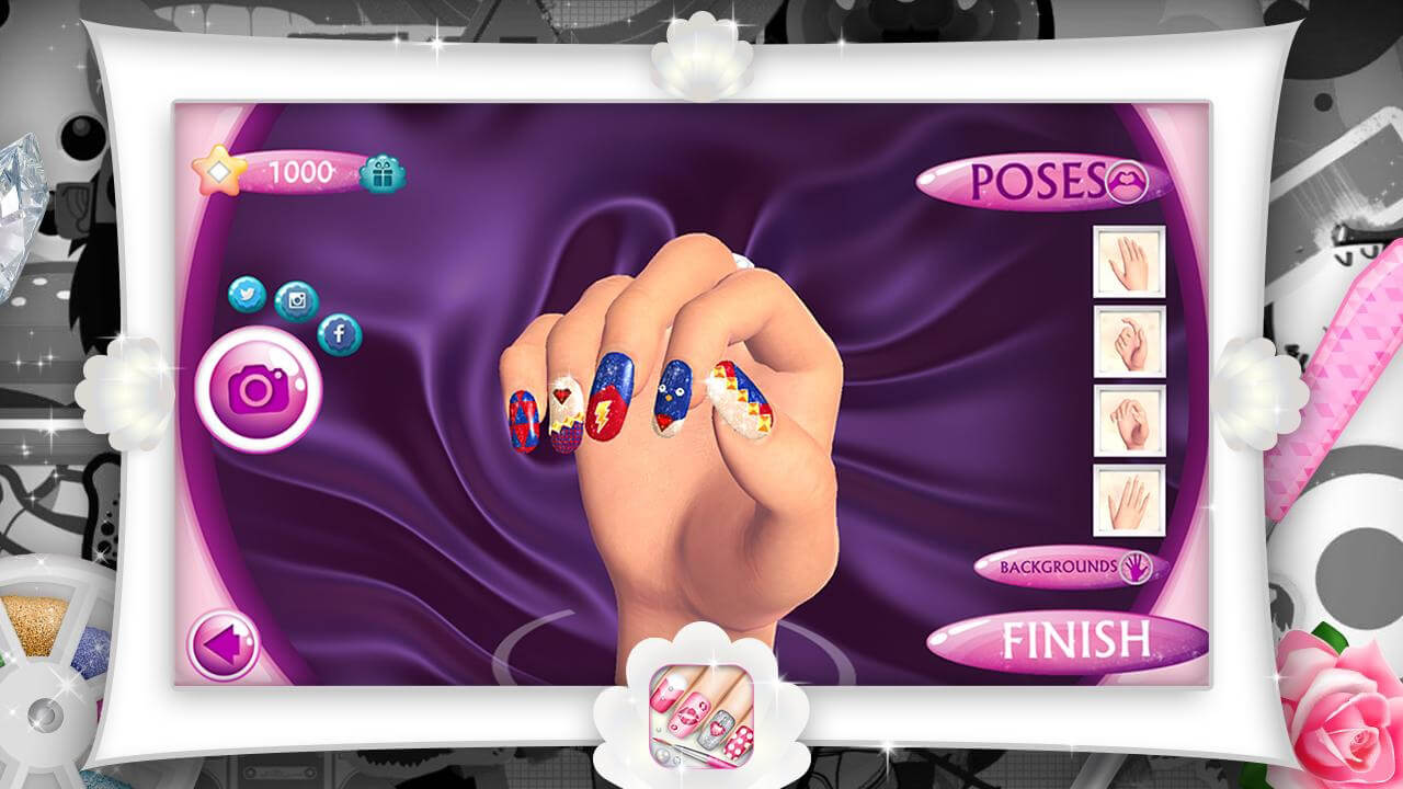 Скачать Fashion Nails 3D Girls Game 6.0 на Android