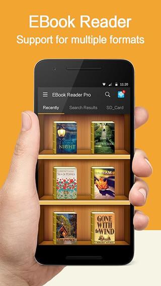 EBook Reader Pro скриншот 1