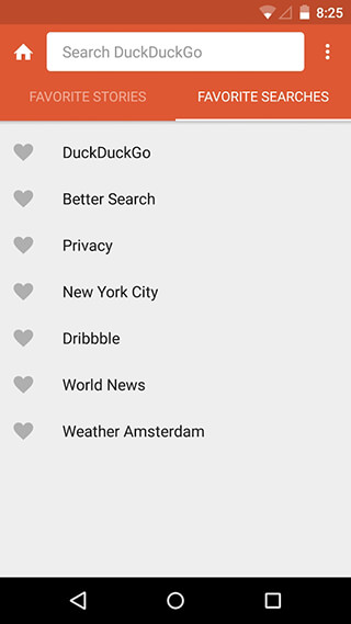 DuckDuckGo Search and Stories скриншот 3