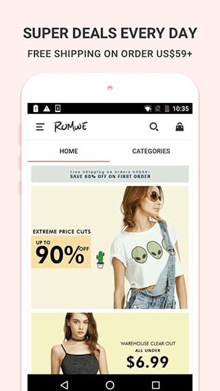 ROMWESHOP: Womens' Fashion Wave скриншот 2