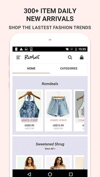 ROMWESHOP: Womens' Fashion Wave скриншот 3