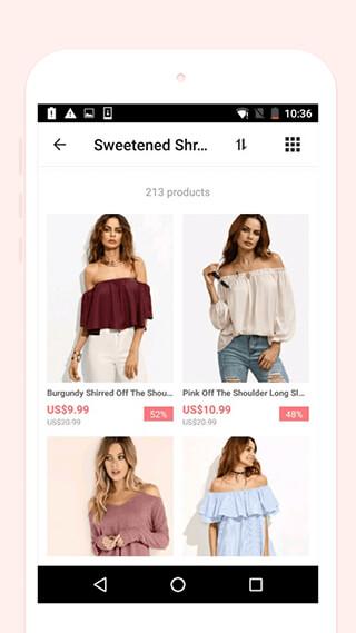 ROMWESHOP: Womens' Fashion Wave скриншот 4