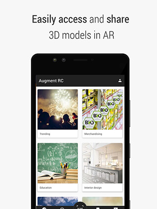 Augment: 3D Augmented Reality скриншот 1