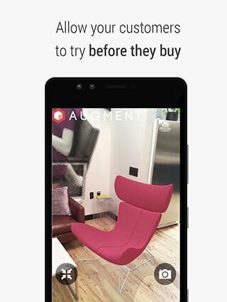 Augment: 3D Augmented Reality скриншот 2