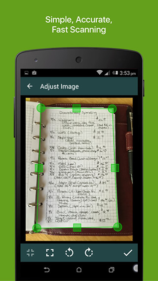 Clear Scanner: Free PDF Scans скриншот 1