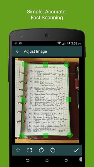 Clear Scanner: Free PDF Scans скриншот 1