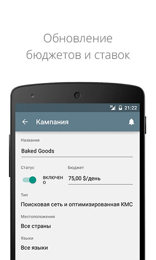 AdWords скриншот 2