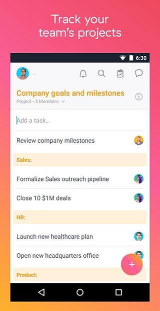 Asana: Organize Team Projects скриншот 1