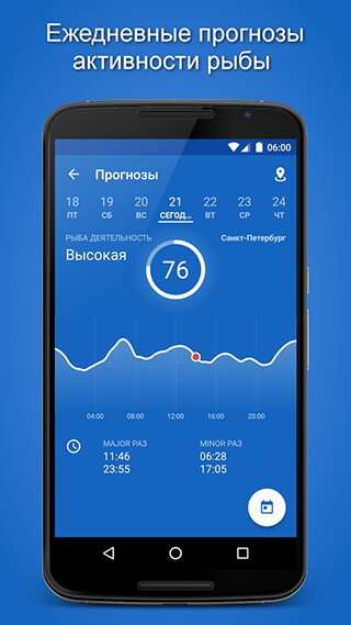 Fishing Points: GPS, Tides and Fishing Forecast скриншот 2