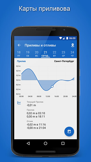 Fishing Points: GPS, Tides and Fishing Forecast скриншот 3