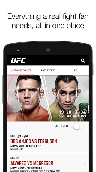 UFC скриншот 1