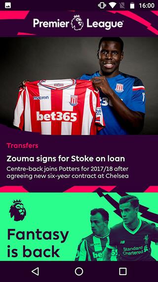 Premier League: Official App скриншот 1