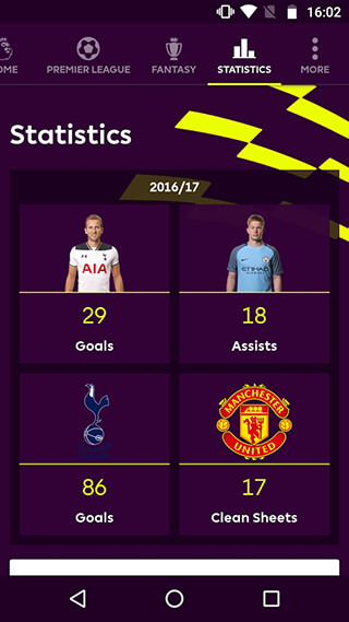 Premier League: Official App скриншот 3