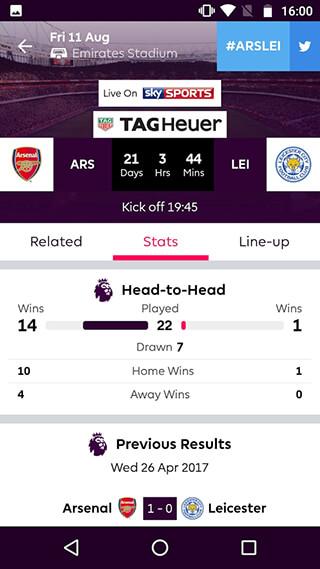 Premier League: Official App скриншот 4