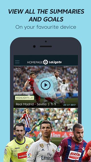 La Liga TV: Official Football скриншот 1