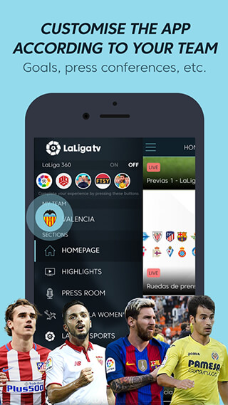 La Liga TV: Official Football скриншот 2