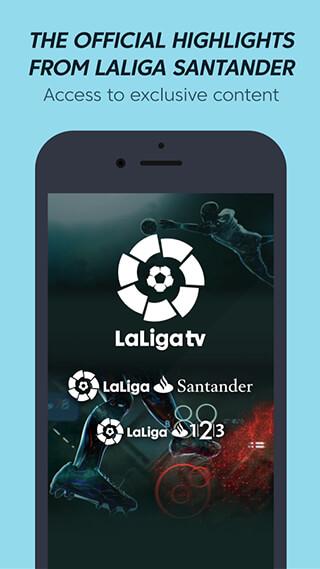 La Liga TV: Official Football скриншот 3