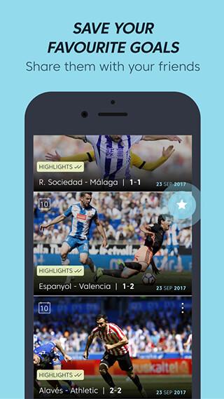 La Liga TV: Official Football скриншот 4