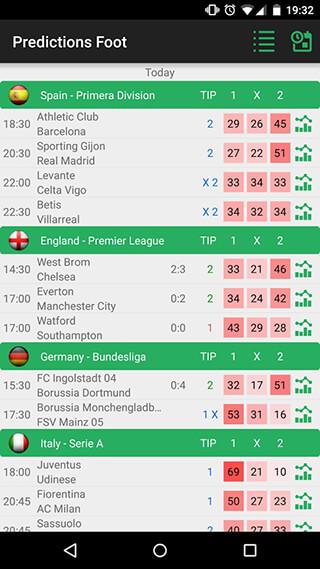 Football Prediction скриншот 1