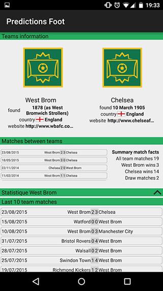 Football Prediction скриншот 3